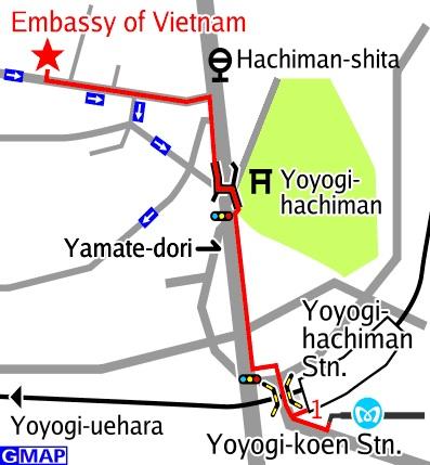 Đại sứ quán Việt Nam tại Nhật