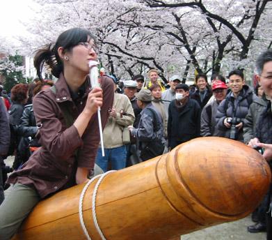 Lễ hội tôn vinh dương vật ở Nhật