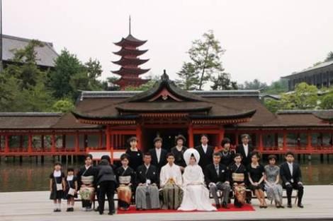 Lễ cưới truyền thống của Nhật Bản