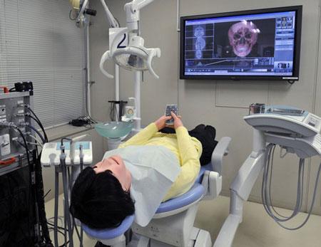 Nhật trình làng robot bệnh nhân