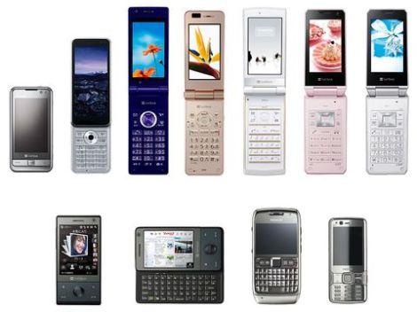 Điện thoại nhật