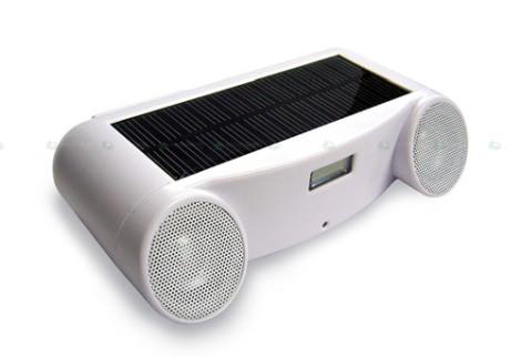Loa di động chạy bằng năng lượng mặt trời