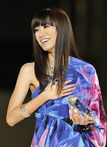 Cô gái 25 tuổi bày tỏ niềm hạnh phúc với ngôi vị đạt được.