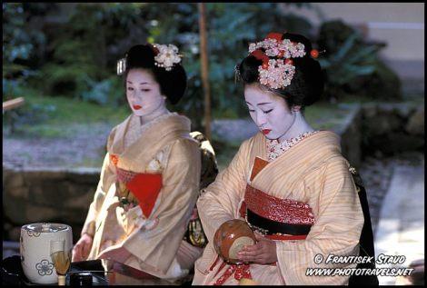 Đời geisha ở Nhật