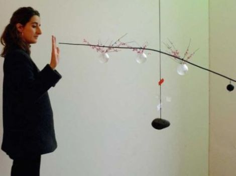 Tác giả và bộ đèn Equilibrium