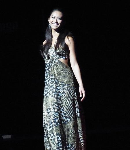 Nhan sắc Tân Hoa hậu Hoàn vũ Nhật Bản 2011