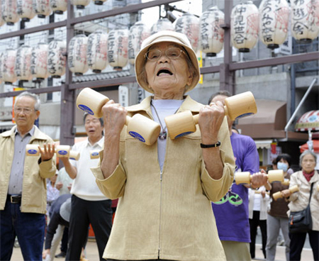 Dân số Nhật Bản giảm kỷ lục