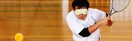 Quần vợt dành cho… người mù tại Nhật Bản