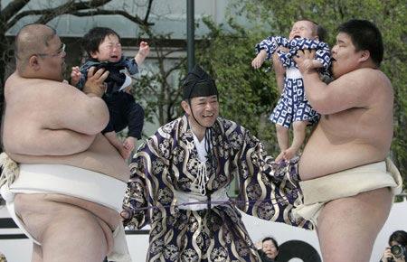 Cuộc thi trẻ em khóc ở Nhật