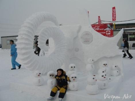 Thành phố tuyết Sapporo