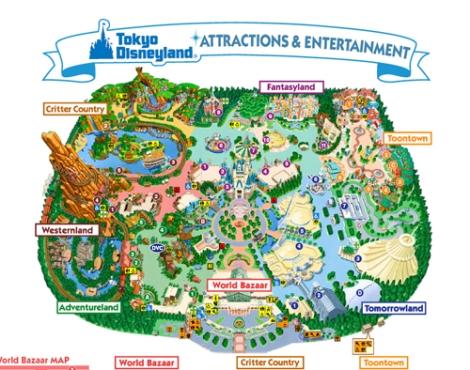 Tokyo Disneyland - khu vui chơi lớn nhất Nhật Bản