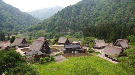 Một góc làng Suganuma - Ảnh: japan-guide.com