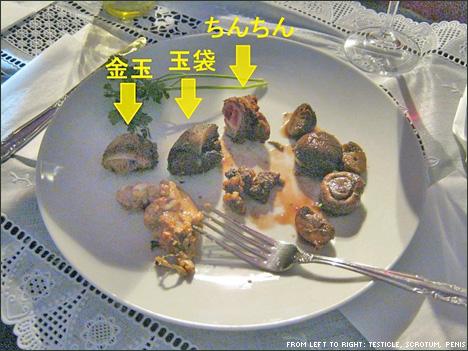 """Món """"dương vật"""" của Sugiyama"""