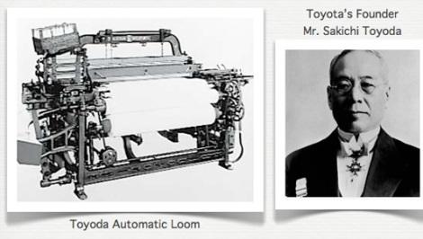 Câu chuyện về người sáng lập Toyota – Sakichi Toyoda