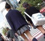 Đồng phục váy siêu Ngắn của nữ sinh Nhật Bản