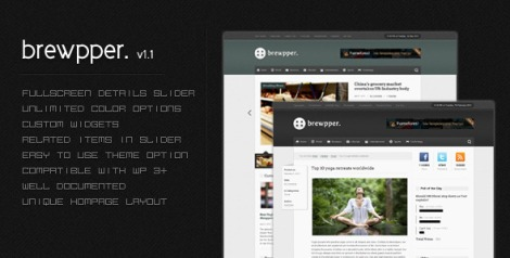 Brewpper – Dynamic News Theme by ThemeForest