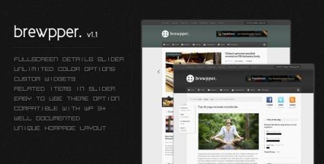 Brewpper – Dynamic News Theme by ThemeForest