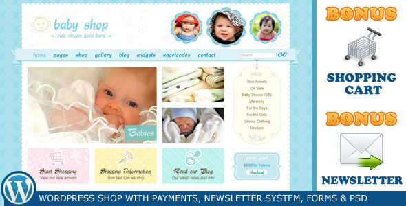 Cute & Sweet – Shop & Newsletter Theme by ThemeForest