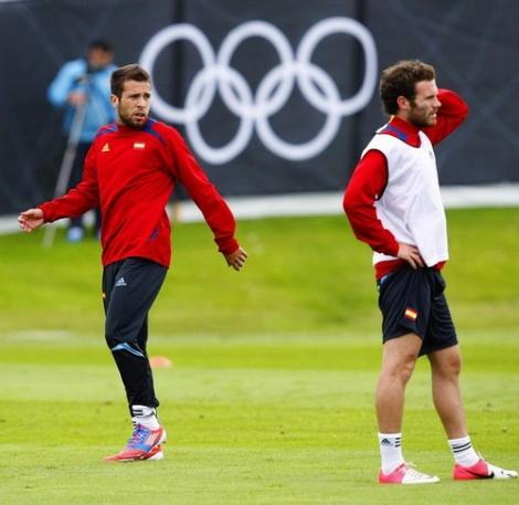 Jordi Alba và Juan Mata: Những niềm hy vọng của U-23 Tây Ban Nha