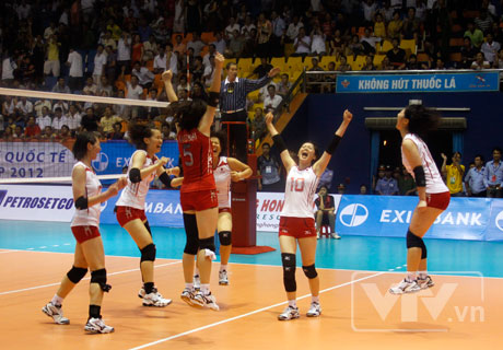Tuyển Nhật Bản bảo vệ thành công ngôi vô địch