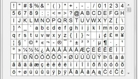 Cách đọc các kí tự bằng Tiếng Nhật