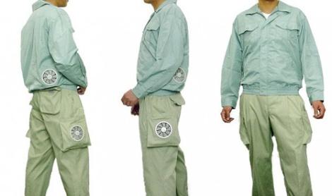 Nhật Bản ra mắt quần gắn điều họa nhiệt độ