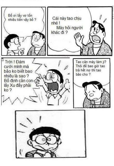 Nobita lên kế hoạch cho tương lai.