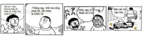 Cười vỡ bụng với Đôrêmon Chế (p4)