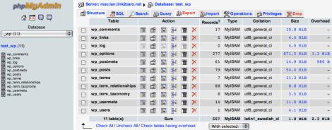 hướng dẫn chuyển host cho wordpress