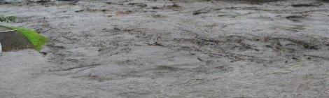 Lũ lụt ở thành phố Kumatomo, phía nam hòn đảo Kyushu