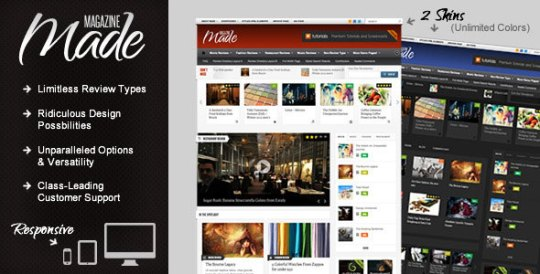 Magazine Theme by ThemeForest
