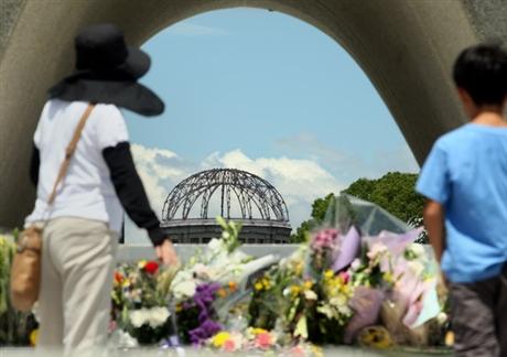 Nhật Bản kỷ niệm 67 năm vụ ném bom nguyên tử Hiroshima