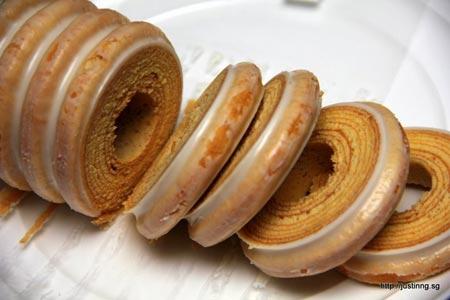 Ngon miệng với bánh khúc gỗ