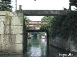 Những chiếc cầu đặc trưng bắc qua những dòng kênh ở Yanagawa