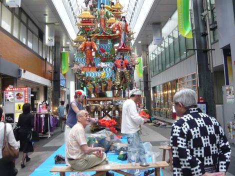 Rộn rã sắc màu lễ hội Hakata Gion Yamakasa 2012