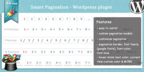 Smart Pagination – WordPress plugin