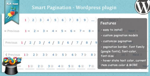 Smart Pagination – WordPress plugin
