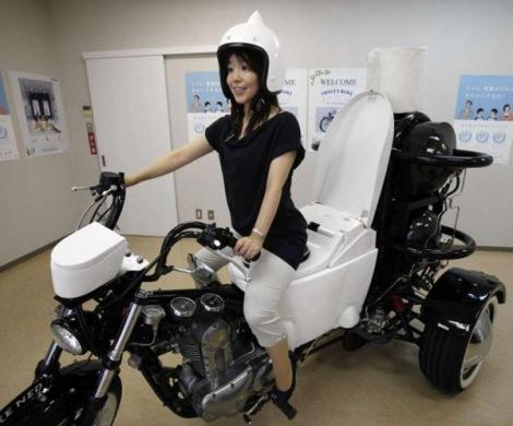 Ra mắt Xe mô-tô chạy bằng phân và nước tiểu