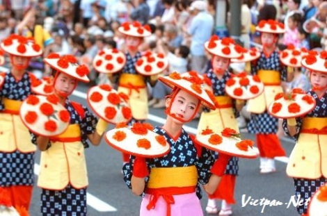 Lễ hội múa Yamagata Hanagasa