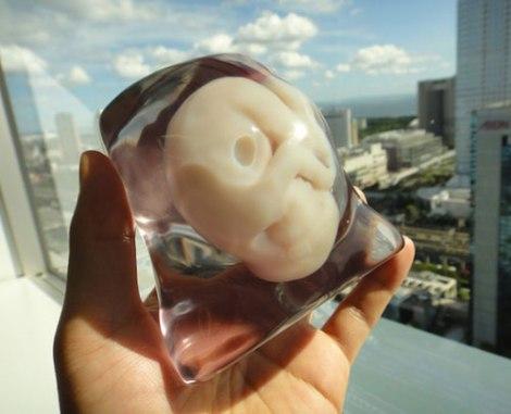 Mô hình 3D của bào thai