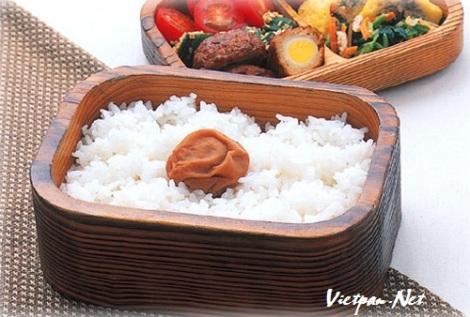 Tìm hiểu về món cơm mận muối của Nhật Bản