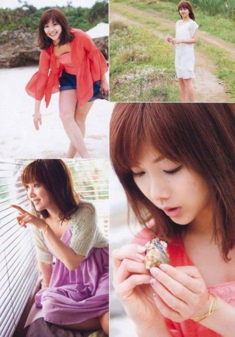 Nữ hoàng cầu lông Nhật Bản đẹp mơ màng