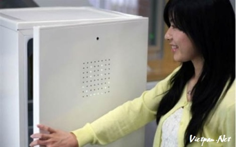 Tủ lạnh tự mở cửa bằng nụ cười