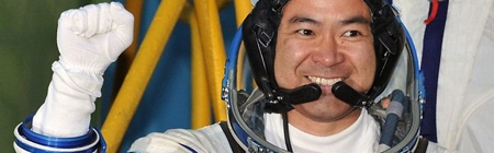 Phi hành gia Nhật trở về Trái Đất
