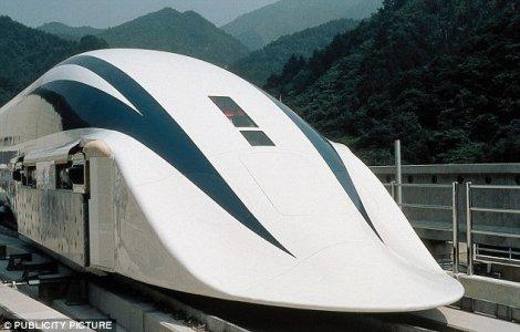 Nhật Bản ra mắt tàu cao tốc 499 km/h