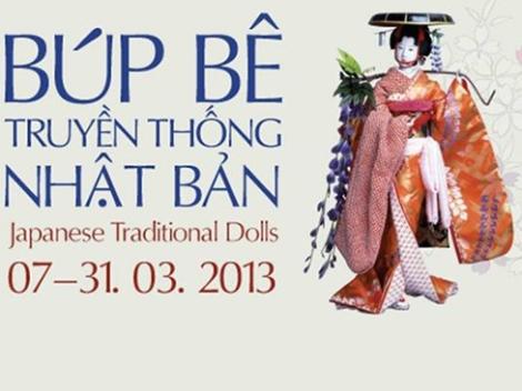250 búp bê Nhật Bản dành cho triển lãm nhân ngày 8-3