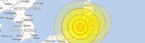 Động đất gây rung lắc ở Nhật Bản