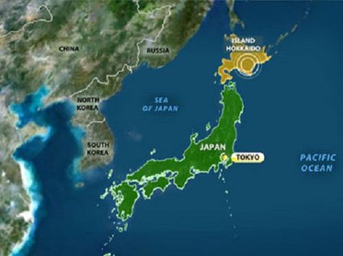 Động đất rung chuyển đông bắc Nhật Bản