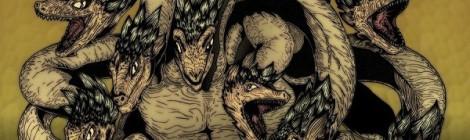 Huyền thoại quái vật rắn 8 đầu 8 đuôi