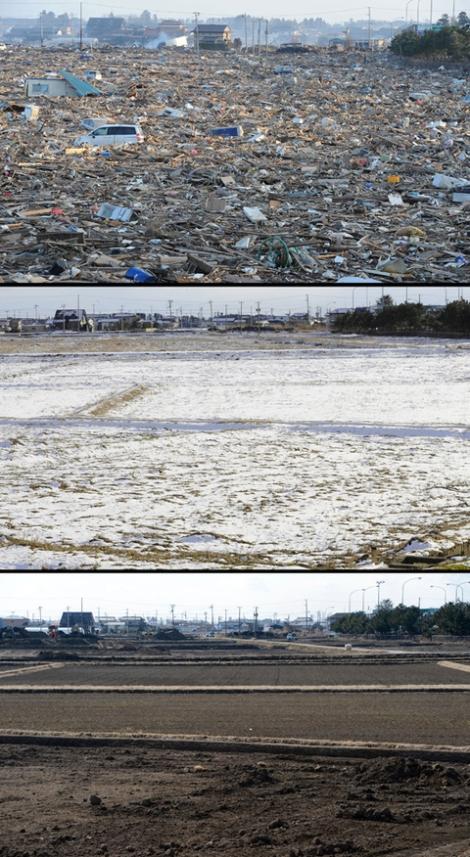 Hình ảnh 2 năm sau thảm họa động đất và sóng thần